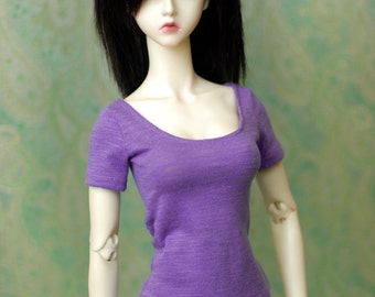 Super Gem Purple Top For SD BJD