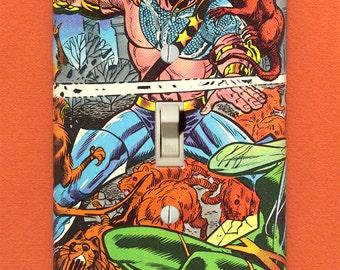 Killraven - Superhero Light Switch Plate - One-of-a-Kind