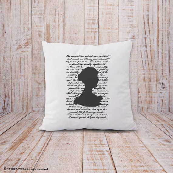 Jane Austen | Bookish Throw Pillow