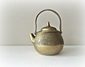 Small Brass Teapot Brass Miniature