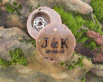 Country Wedding Ring Box   Wooden Ring Bearer Box   Rustic Wedding Ideas   From Reclaimed Oak