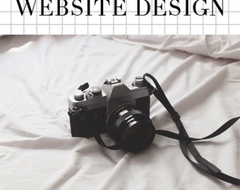 Photography Website Design & SEO Support - WordPress