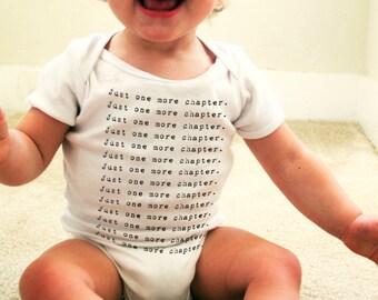 Book Lover's Mantra Baby Onesie