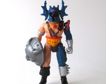 Warduke Dungeons and Dragons Figure 1983, with Shield, Advanced Dungeons and Dragons, AD & D, TSR