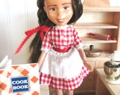 Bratz Transformed, Bratz dolls changed, Rescued dolls, doll furniture, red gingham, just kids