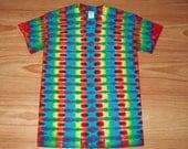 S M L Xl 2x 3x 4x 5x 6x Rainbow DNA Tie Dye- Kids Adult Plus Size tie dye Shirt