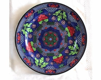 Antique Royal Doulton Islamic Series plate. Royal Doulton cabinet / rack plate D4551