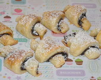 Rugelach Cookies  Fresh Your Choice of Flavor,16  Christmas Holiday Cookies