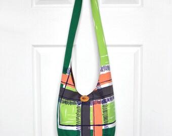 Hobo Bag Boho Bag Cross Body Bag Sling Bag Hippie Purse Vintage Tablecloth Hobo Purse Vintage Hippie Bag Slouchy Purse Bohemian Bag Hobo Bag