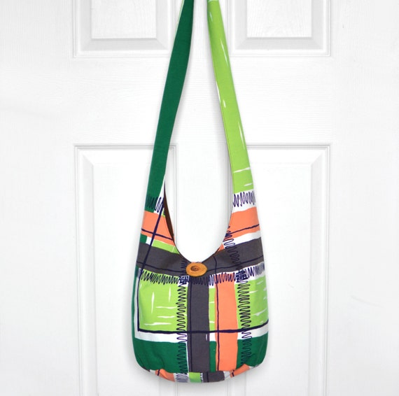 Hobo Bag Boho Bag Cross Body Bag Sling Bag Hippie Purse Vintage Tablecloth Hobo Purse Vintage Hippie Bag Slouchy Purse Bohemian Bag Hobo Bag