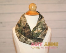 Sale Cabellas Zonz Toddler Girls Kids real tree Jersey Knit Camo Camoflauge Fashion Infinity Scarf Circle Hunting Duck Dynasty
