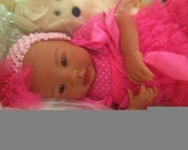 From the Biracial Shyann Kit  Reborn Baby Doll 19 inch Baby Girl Georgia Complete Baby Doll