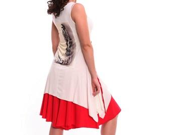 Tango Tunic in White with Aplique, Tango Top, Tango Dress