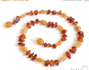 15% OFF THRU OCT Baltic Amber Baby Teething Necklace