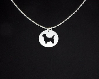 Cairn Terrier Necklace - Cairn Terrier Jewelry - Cairn Terrier Gift