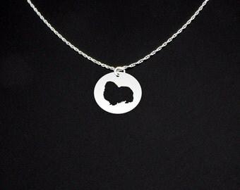 Pekingese Necklace - Pekingese Jewelry - Pekingese Gift