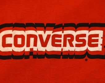 1980's Deadstock Red Converse T-shirt