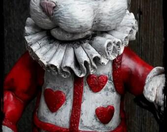 White Rabbit from Alice in Wonderland sculpture