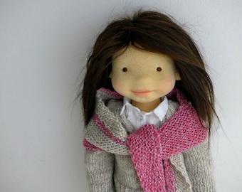 "SALE - NINA  20"" doll, waldorf doll, art doll"