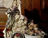 I Do Believe in Fairies Collection Kit: Fairies, Fae, sprites, mystical creatures, thimble, incense, sugar, milk, fairy ring, ritual, altar