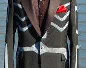 44R Tuxedo Jacket Dia de Los Muertos