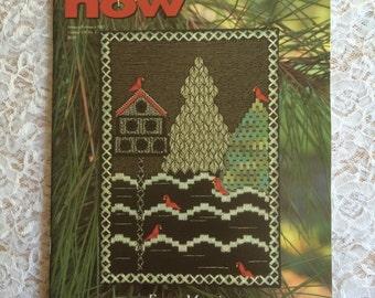 Needlepoint Now Magazine Back Issue - January February 2005, Frosty Morning