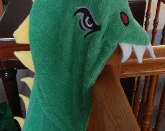 Adult T-Rex Hooded Towel - Free Personalization