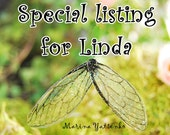 Special listing for Linda. 4 sets of pink wings