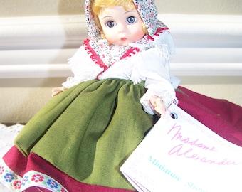 Switzerland Madame Alexander 8 inch doll