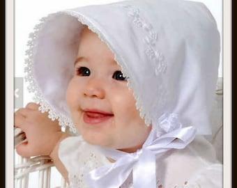 Baby Bonnet,Reversible Bonnet, Sunbonnet, Sew Modern Bonnet