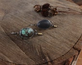Forge Your Own Trail Turquoise Earrings