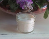 Beeswax Sandalwood Scented Jar Candle