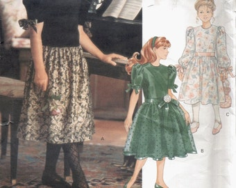 Little Vogue Pattern 2794--Uncut--Girl's Dress--Sizes 12-14