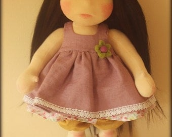 "Waldorf inspired doll called Lexi , 18"" tall"