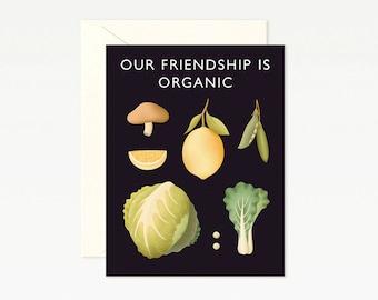 Vegetable Friendship Card