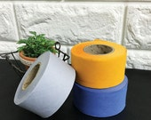 3.5 cm Solic Color Cotton Bias by the roll - 3 Colors - 14 Yards 85598