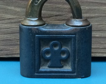 Antique Brass Yale Lock