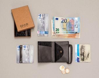 Wallet, womens wallet, Leather Wallet, Womens Wallet, Black
