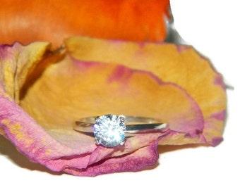 1 Carat Promise Ring, Proposal Ring, Wedding Ring, Engagement