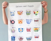 Figgjo flint tea towel