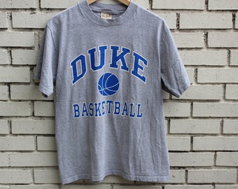 Vintage DUKE BASKETBALL shirt The Game tag Durham North Carolina sports athletic clothing collegiate ncaa vtg bball