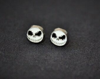 Jack Skellington Stud Earrings - Nightmare Before Christmas