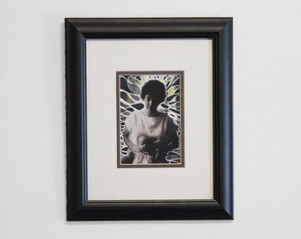 "8x10 Framed Fine Art Print. ""Madonna"""
