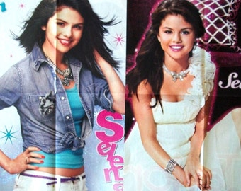 SELENA GOMEZ ~ Wizards Of Waverly Place, Love You Like A Love Song, Same Old Love, Hands To Myself ~ Color Posters fr Scrapbooking - Batch 3