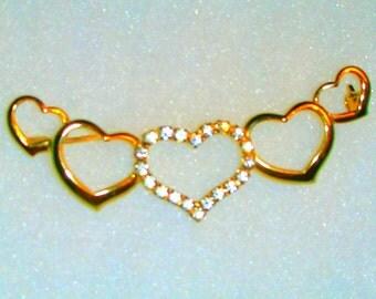 Spilla di diamanti finto da impostore Brand, gioielliere famoso costume