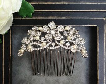 Bridal hair piece, Bridal hair comb,  Bridal headpiece, Bridal hair accessories, Wedding hair comb, Wedding hair accessories, Wedding comb