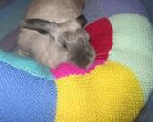 super giant Ugli Donut bunny rabbit bed