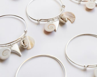 Beach bangle - White