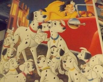Disney Classic - 101 Dalmations VHS - 1990 Black Diamond edition RARE