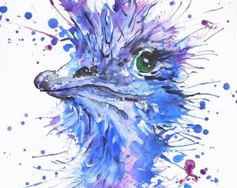 "Original watercolour painting ""Edward"""